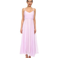 JILL JILL STUART Luna Crystal Pleated Dress