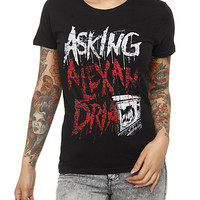 Asking Alexandria Logo Girls T-Shirt