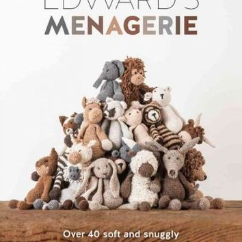 Edward's Menagerie: Over 40 Soft and Snuggly Toy Animal Crochet Patterns