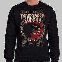 Taking Back Sunday 2015 Holiday Crewneck Sweatshirt
