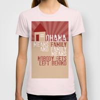 Ohana Means Family - Lilo & Stitch T-shirt by Crafts and Dogs | Society6
