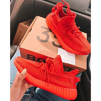 Adidas Yeezy Boost 350 V2 Fashion running shoes Red