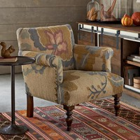 Passion Flower Kilim Chair                       | Robert Redford's Sundance Catalog