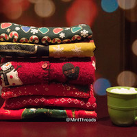 Mystery Ugly Christmas Sweaters