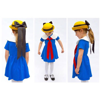 Madeline Costume, Literary Character, Girls Dress Up, Book Costume, Toddler Halloween, Halloween Costume, Best Seller, Kids Costume,
