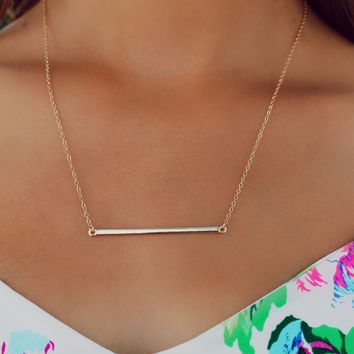Touch of Simplicity Necklace
