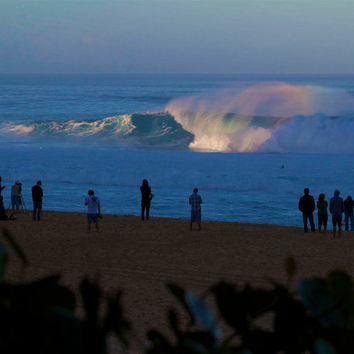 Morning Light Abstract Wave,Backdoor Lineup Photography,Ehukai Beach Landscape,Hawaii Surf Photography,Rainbow Lineup Photo,Rainbow Wave Art