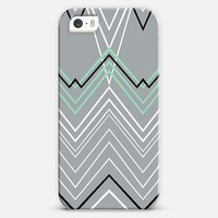 Mint Chevy on Grey iPhone 5s case by Project M | Casetify