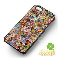Disney Characters Collage - zaiii for  iPhone 4/4S/5/5S/5C/6/6+,Samsung S3/S4/S5/S6 Regular/S6 Edge,Samsung Note 3/4