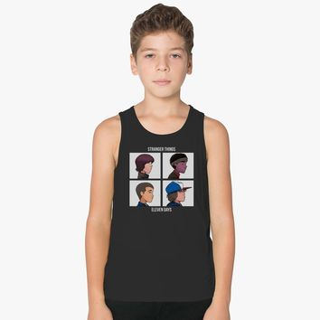 Stranger Things Eleven Days Kids Tank Top