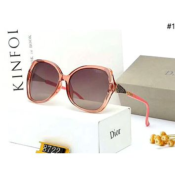 Dior personality wild female models driving polarized sunglasses #1