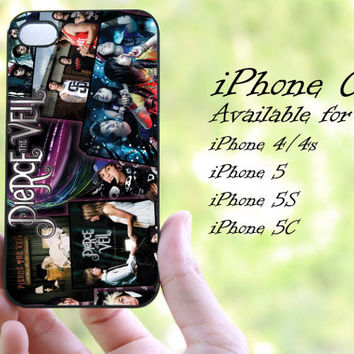 pierce the veil design iphone case for iphone 4 case, iphone 4s case, iphone 5 case, iphone 5s case, iphone 5c case