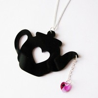 Tea Addict Necklace from Cherryloco Jewellery | Made By Cherryloco Jewellery | £18.00 | Bouf