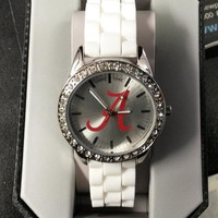 NCAA Alabama Crimson Tide Women's Frost Watch