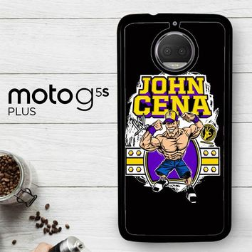 John Cena Cenation Cartoon V0479  Motorola Moto G5S Plus Case