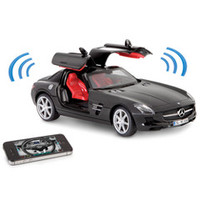 The iPhone Controlled Musical Mercedes SLS - Hammacher Schlemmer