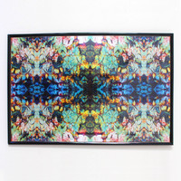 Lady Ibogaine Poster - Psychedelic Kaleidescopic Print