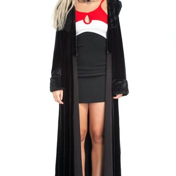 Vintage 90's Opera Ghoul Maxi Cardigan - One Size Fits Many