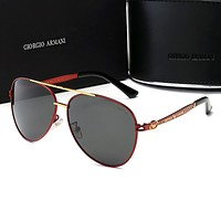 Armani Newest Men Personality Summer Shades Eyeglasses Glasses Sunglasses