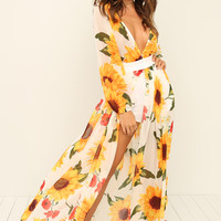 My Sunshine Dress - Floral