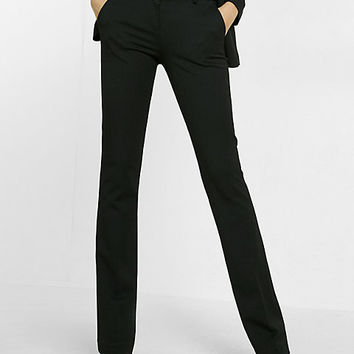 petite mid-rise columnist barely boot pant