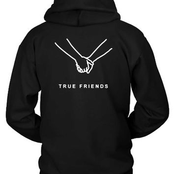 Bring Me The Horizon True Friend Hoodie Two Sided