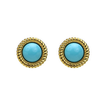 St. Tropez Button Earrings