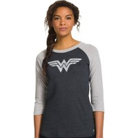 Under Armour Women's Alter Ego Wonder Woman Shimmer Frost Long Sleeve Shirt