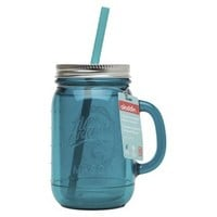 Aladdin Mason Jar Travel Mug - Patina Blue (20oz)