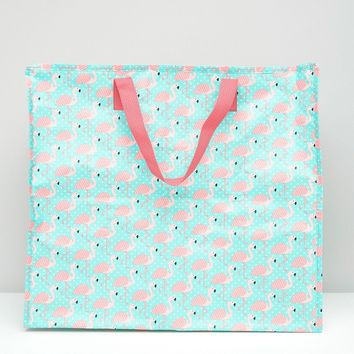 Sass & Belle Flamingo Storage Bag