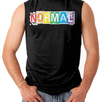 NORMAL Rainbow Gay Lesbian Pride LGBTQ Pride Tank Top Shirt /  Many Colors Pride Gift Idea