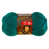 Bernat Softee Chunky Yarn in Emerald