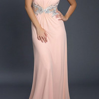 Black Label Couture 42 Halter Evening Gown Prom Dress with Train