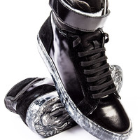 Ylati Amalfi High Top Black Sneaker