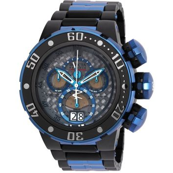 Invicta Men's 22271 Jason Taylor Quartz Chronograph Grey, Blue Dial Watch