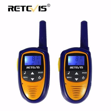 2pcs Mini Walkie Talkie Kids Radio Retevis RT31 0.5W 8/22CH PMR FRS/GMRS Portable Two Way Radio Station Children Hf Transceiver
