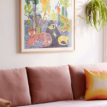 Camilla Perkins Jungle Art Print - Urban Outfitters