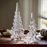 Glass Drop Trees