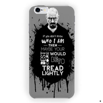 Breaking Bad Heisenberg Beaker Quotes For iPhone 6 / 6 Plus Case