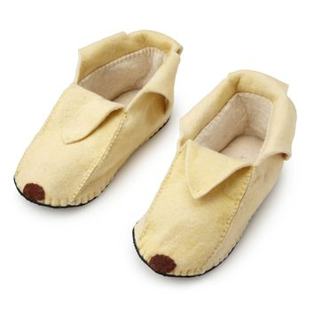 Foodie Slippers Banana | novelty slippers