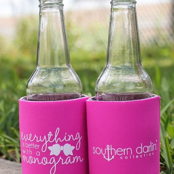 SD Koozie: Monogram