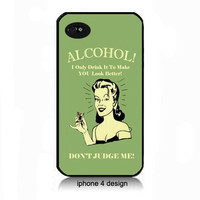 Alcohol Retro Ad  Iphone 4/4s  cell phone case, Iphone case, Iphone 4s case, Iphone 4 cover, i phone case, i phone 4s case