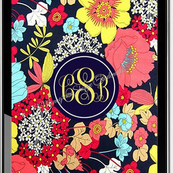 Personalized Vera Bradley Monogrammed Wallpaper