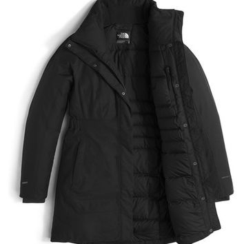 The North Face Arctic II Waterproof 550-Fill-Power Down Parka with Faux Fur Trim | Nordstrom