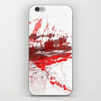 t_5 iPhone & iPod Skin by Kristina Kerstner