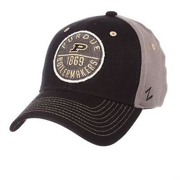brand new aecf3 6be0a Licensed Purdue Boilermakers Official NCAA Duo Small Hat Cap by Zephyr  632789 KO 19 1
