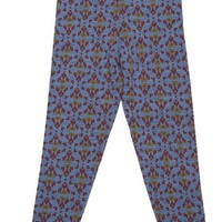 PAADE MODE Jacquard Merino Pants Charlie in Blue
