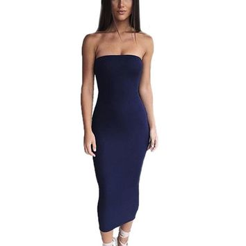 CWLSP Maxi Bodycon