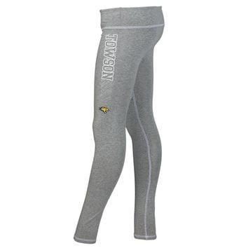 Official NCAA Towson University Tigers TU Doc the Tiger HAIL TOWSON! Women's Athlesiure Legging