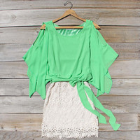 Sea Glass Lace Dress